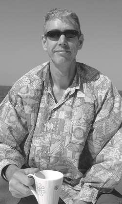 Anders Sjölund i en avslappnad stil påresa i Egypten. Foto: Privat