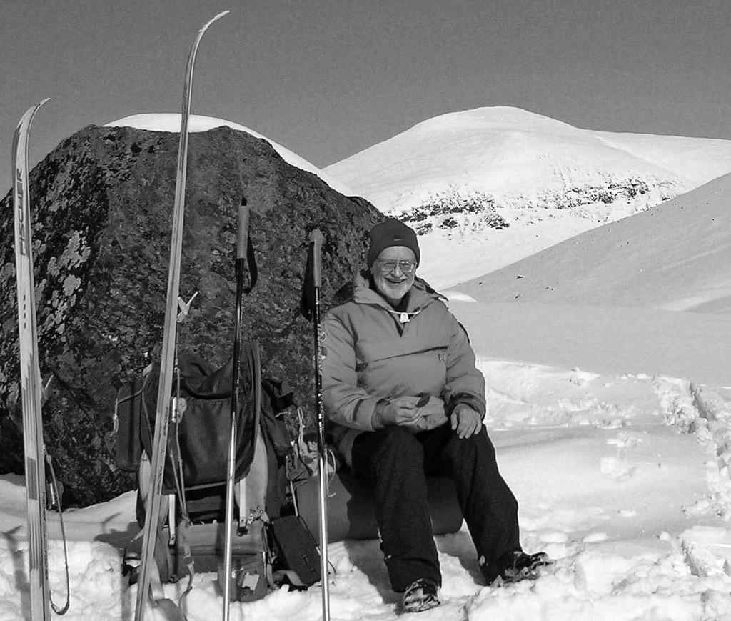 Thomas Josefsson i norra Lapplandsfjällen