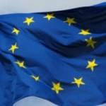 Europeiska unionens flagga 2011 som symbol för Europarådets resolution 1815.