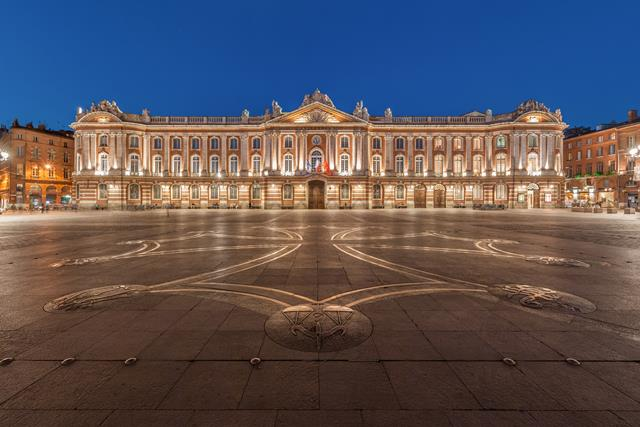 Huvudstaden i Toulouse