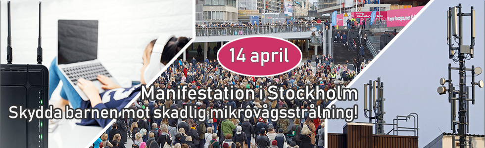 Manifestation Stockholm 14 april