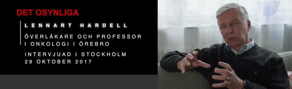 Det osynliga – intervju med Lennart Hardell