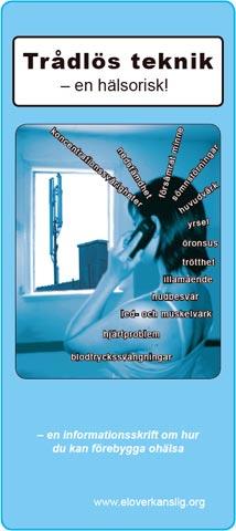 Broschyr: Trådlös teknik - en hälsorisk
